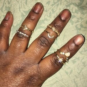 6 piece ring set